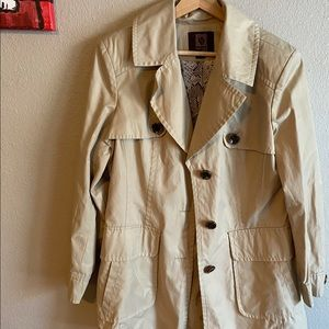 Anne Klein Coat size Size L color cream